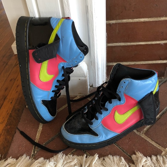 65cfab9fd6 Nike Shoes | Dunk High Sneakers Size 7 Youth | Poshmark